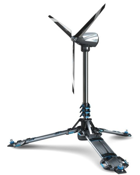 The Ultra-Portable Eolic Foldable Wind-Powered Generator Can Become an Alternative Power Source