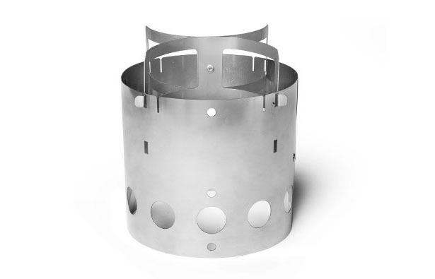 Ultra-Thin Stainless Steel Camp Stove by Kaufmann Mercantile