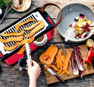 Una Tabletop Grill: Portable, Compact, Easy to Set up Grill