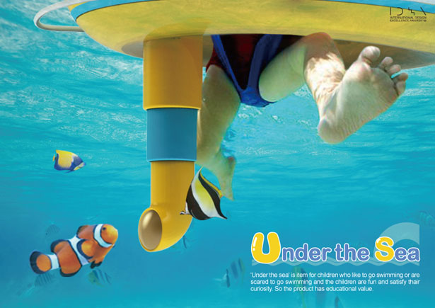 Under The Sea Floatation Device with Periscope for Children