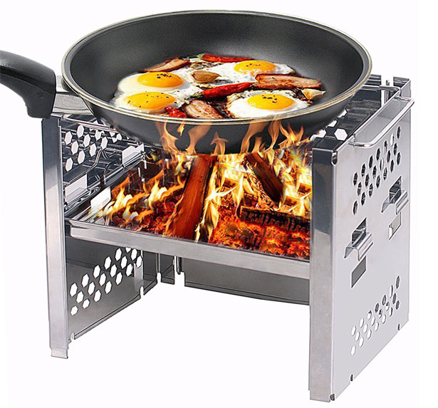 Unigear Wood Burning Portable Camp Stove