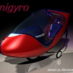 Unigyro Single Seater Vehicle Design by Morteza Vafadar