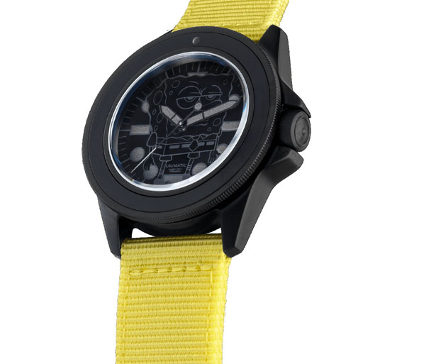 Unimatic U1-SS Watch Celebrates 20th Anniversary of SpongeBob SquarePants