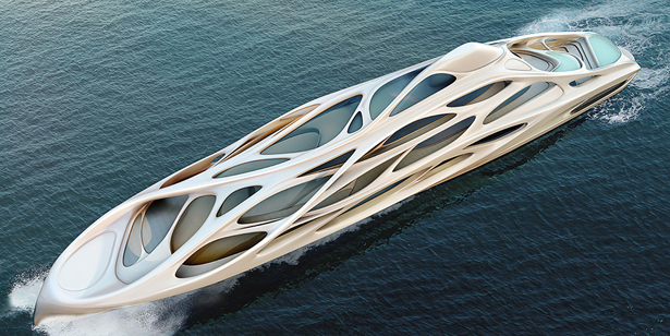 Unique Circle Yacht by Zaha Hadid