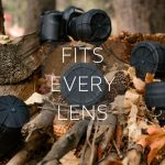 Universal Lens Cap:  Stretchable Cap That Fits Every DSLR Camera Lens