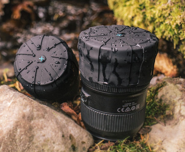 Universal Lens Cap - 1 Cap for Every DSLR Camera Lens by KUVRD