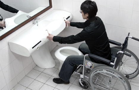 Universal Toilet for Both Individuals With Disabilities