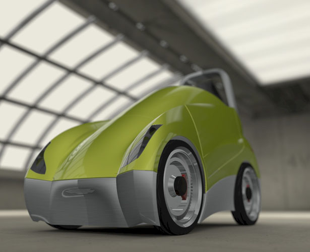 Uno Personal Electric Vehicle by Angel Sanches Vargas