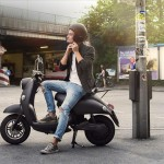 Maintenance Free UNU Electric Scooter With Portable Lithium-ION Battery