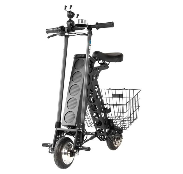 URB E Black Label City Edition Foldable Electric Scooter
