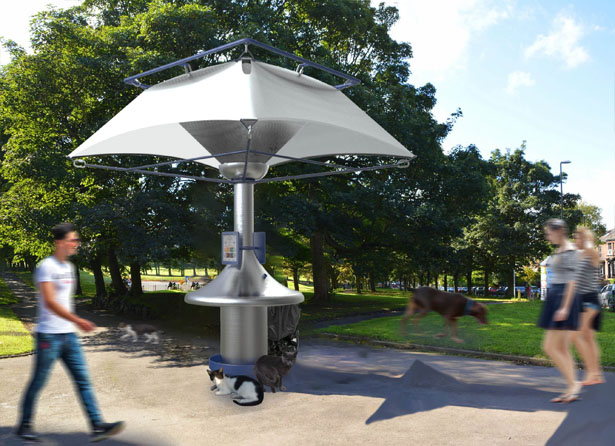 Urban Rainwater Collector by Venn IDC