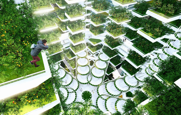 Urban skyfarm future vertical farm for urban areas tuvie - Small space farming image ...