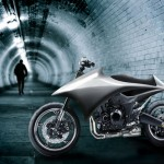 Urban Streamline Motorcycle Design by Lauren Davison