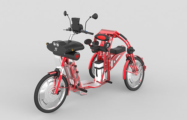 Urban2+ Cargo Bike by Johanson3