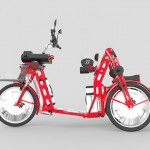 Urban2+ Cargo Bike Is Especially Designed for Tall People to Move Fast with Plenty of Cargo