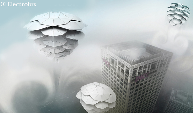 UrbanCONE : Futuristic Jellyfish That Cleans Air by Michal Pospiech