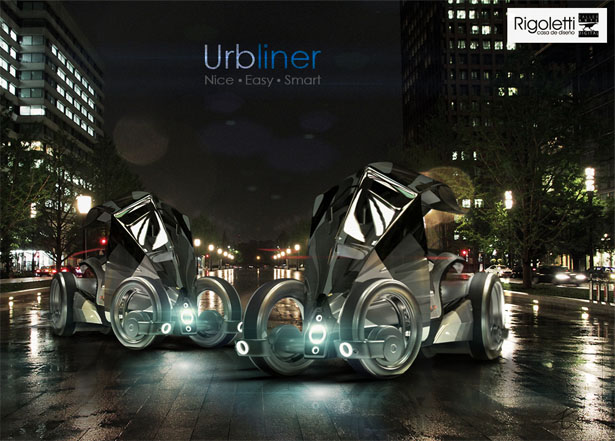 Urbliner Electric Vehicle by Eduardo Trivino Vargas