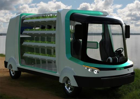 Urban Concept Vehicle with Water Purification System for The Year 2030