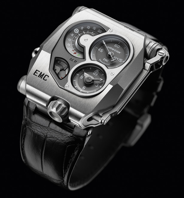 Urwerk EMC Watch Is World's First Precision Mechanical Watch That You Can Adjust and Monitor