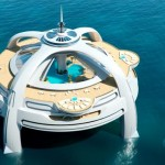 Utopia Yacht : A Vision of Future Yacht by BMT Nigel Gee and Yacht Island Design