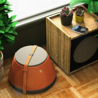 UUMA Portable Table and Chair Furniture Piece Made with Fiberglass