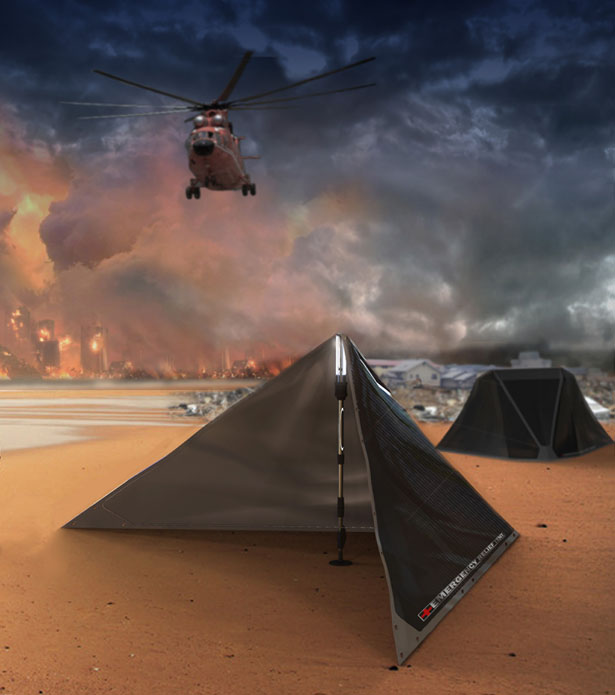 V Plus Emergency Relief Tent : A Temporary Shelter for Disaster Areas