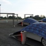 V-Tent Solar Powered Charging and Protecting Unit by Hakan Gürsu