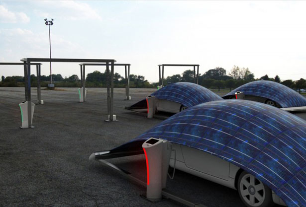 V-Tent Solar Powered Charging and Protecting Unit by Hakan Gursu & V-Tent Solar Powered Charging and Protecting Unit by Hakan Gürsu ...
