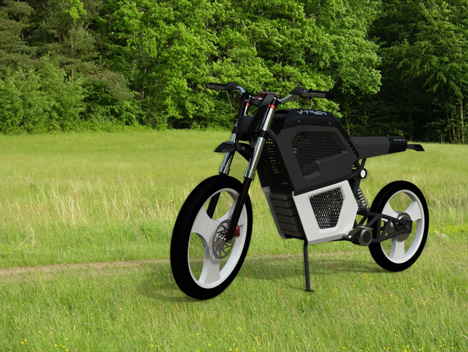 V-Trek Motorcycle : Fuel Cell Powered Personal Transport Vehicle Concept