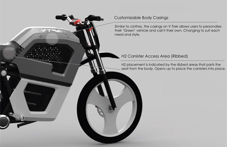 V-Trek Motorcycle