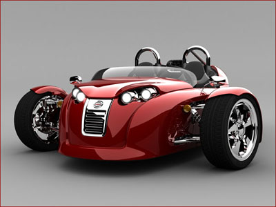 Campagna V13R three wheeled vehicle