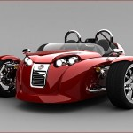 V13R from Campagna Motors, a Three Wheeled Sports Vehicle