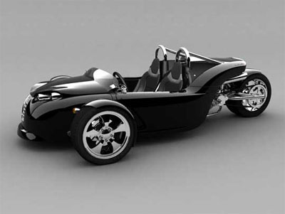 v13r from curbin is three wheeled vehicle