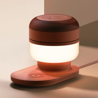 Va-U Is Not Your Ordinary Devicce, It's a Lamp, a Wireless Charger, and a Portable Air Purifier