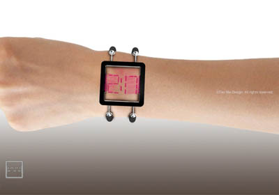 future watch, transparent watch