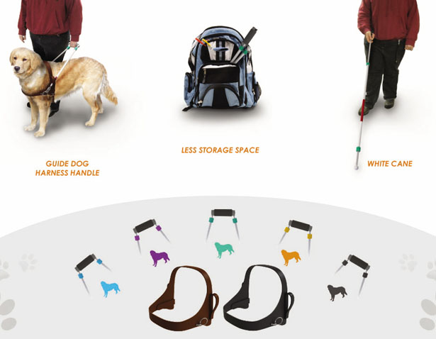 Vapen Guide Dog Harness by Eva Foo