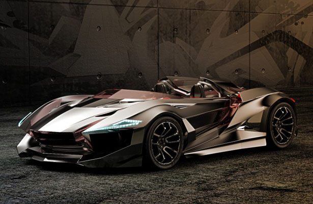 Vapour GT Concept Car by Gray Design