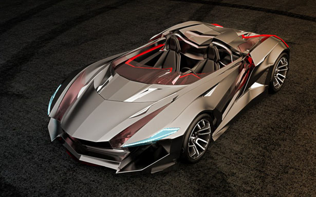 Awesome Vapour GT Concept Car Features Wind Sculpted Edges and Fury On Every Surface