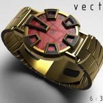 Vector Watch Boasts Industrial Styling with Castellated Bezel