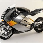 Futuristic Vectrix Electric Super Bike