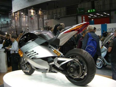 vectrix electric super bike