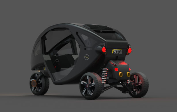 Vector Automobile by Bilal Majeed