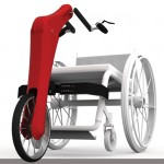 Velo Modular Handcycle for Wheelchair User Who Wants to Play Sports
