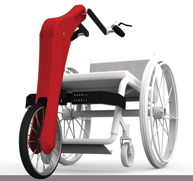 Velo Modular Sports Interface for Wheelchair User by Mark Wafforne