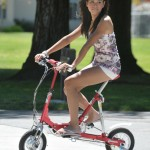 VeloMini : Light-Weight Folding Electric Bicycle