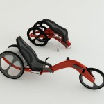 Velorian Three Wheeler Transportation Solution Can Be Folded And Carried Easily