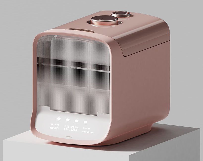 Venine Rice Cooker by Designer Dot and Yeju Song