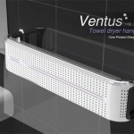 Ventus Towel Dryer Hanger by Seung Hyun Lee