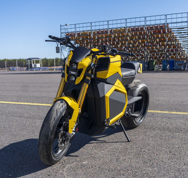 Verge TS Hubless Electric Roadster by Verge Motorcycles