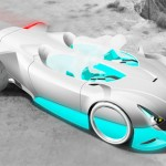 Versa-Quatic Futuristic Car Concept Inspired by Marine Life